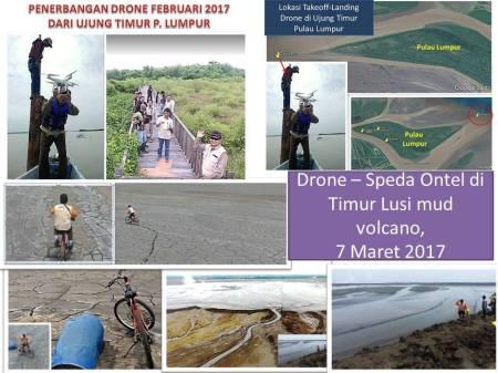 Hasil gambar untuk Drone lusi gempa